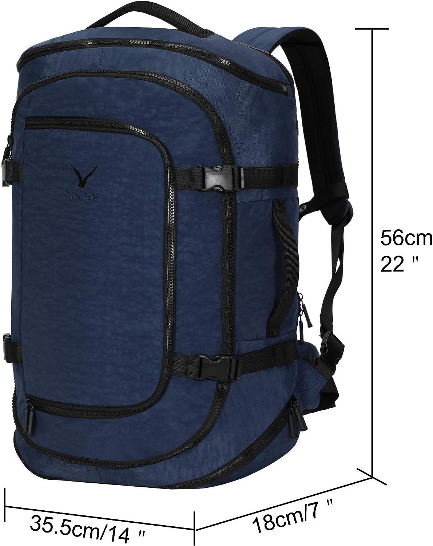 Hynes Eagle Sac a Dos Cabine Bagage Cabine Voyage Sac Cabine Travel Backpack Valise /à Dos 45L