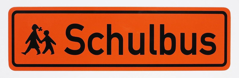 Magnetschild Schulbus | Zusatzkennzeichnung | Schulbusschild Schild magnetisch | lieferbar in drei Grö ß en (65 x 19 cm) LOHOFOL