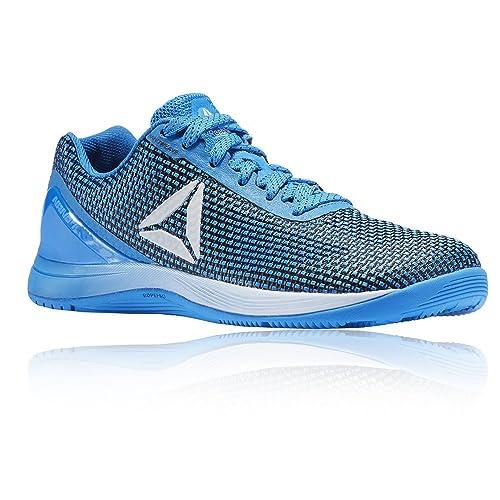 Reebok R Crossfit Nano AVY49, Zapatillas Deportivas para Interior Mujer, Azul (Horizon Blue/black/silver/white), 42.5 EU: Amazon.es: Zapatos y complementos