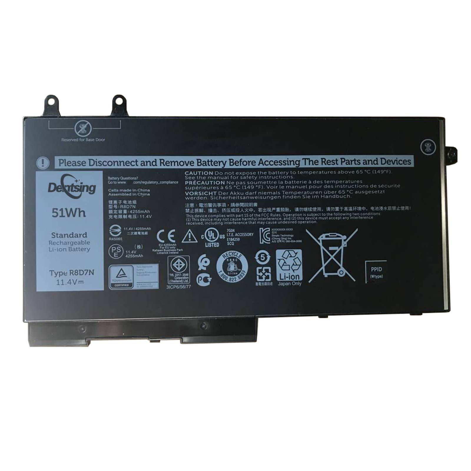 Bateria R8D7N para Dell Precision 3540 M3550 Latitude 5400 5