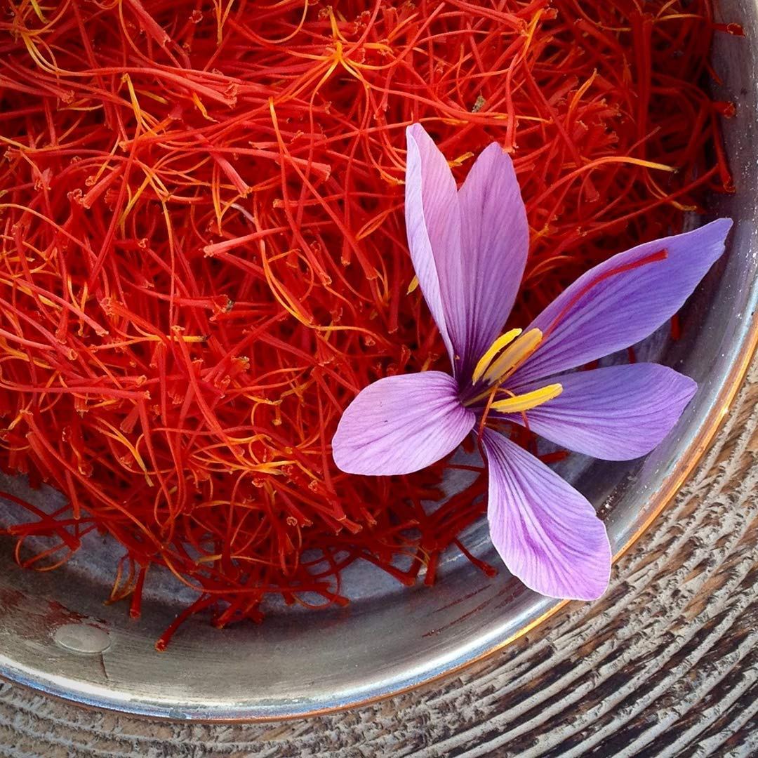 Spanish Superior Quality Saffron Red Threads Filaments Cat 1,100% Pure Natural Food and Tea Spice