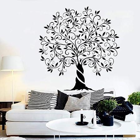 Baobaoshop Árbol de la Vida Familiar Vinilo Tatuajes de Pared ...