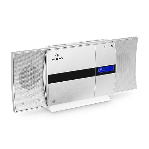 6 opinioni per auna V-20 DAB • Mini Impianto Stereo Verticale • Bluetooth • Lettore CD • Porta