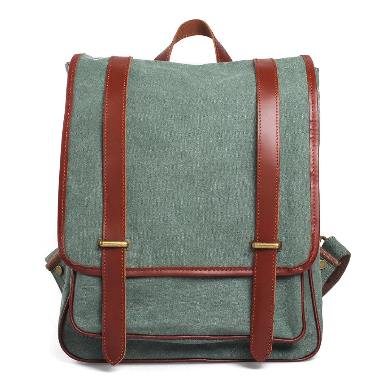 SOGAR Girl's & Boy's Canvas Travel Shoulder Satchel Backpack Cute Bookbag Outdoor School Bag,4 Colors