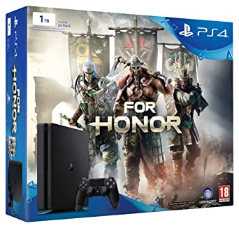 Console PlayStation 4 Sony Ps4 Slim 1Tb 1000 Gb + For Honor: Amazon