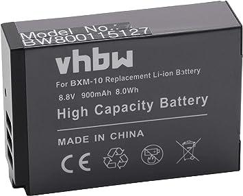 vhbw Li-Ion batería 900mAh (8.8V) para cámara réflex Digital XiaoYi ...