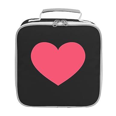 2207613b55bd Emoji Heavy Black Heart Lunch Bag