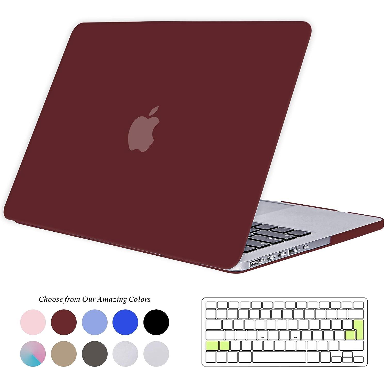 TECOOL Funda para MacBook Pro 15 Pulgadas con Retina Display, Plástico Dura Case Mate Carcasa con Tapa del Teclado para 2013-2015 MacBook Pro 15 ...