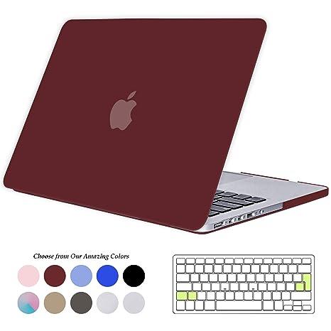 Tecool Funda MacBook Pro 15 Pulgadas con Retina Display, [Ultra Slim Cubierta] Plástico Duro Case Carcasa con Tapa del Teclado para MacBook Pro 15.4 ...