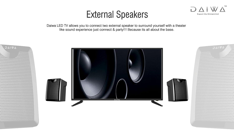 Daiwa 813 cm D32C4GL HD Ready LED TV Amazonin Electronics