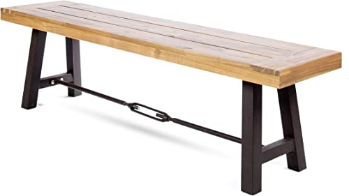 Christopher Knight Home Catriona Outdoor Acacia Wood Bench