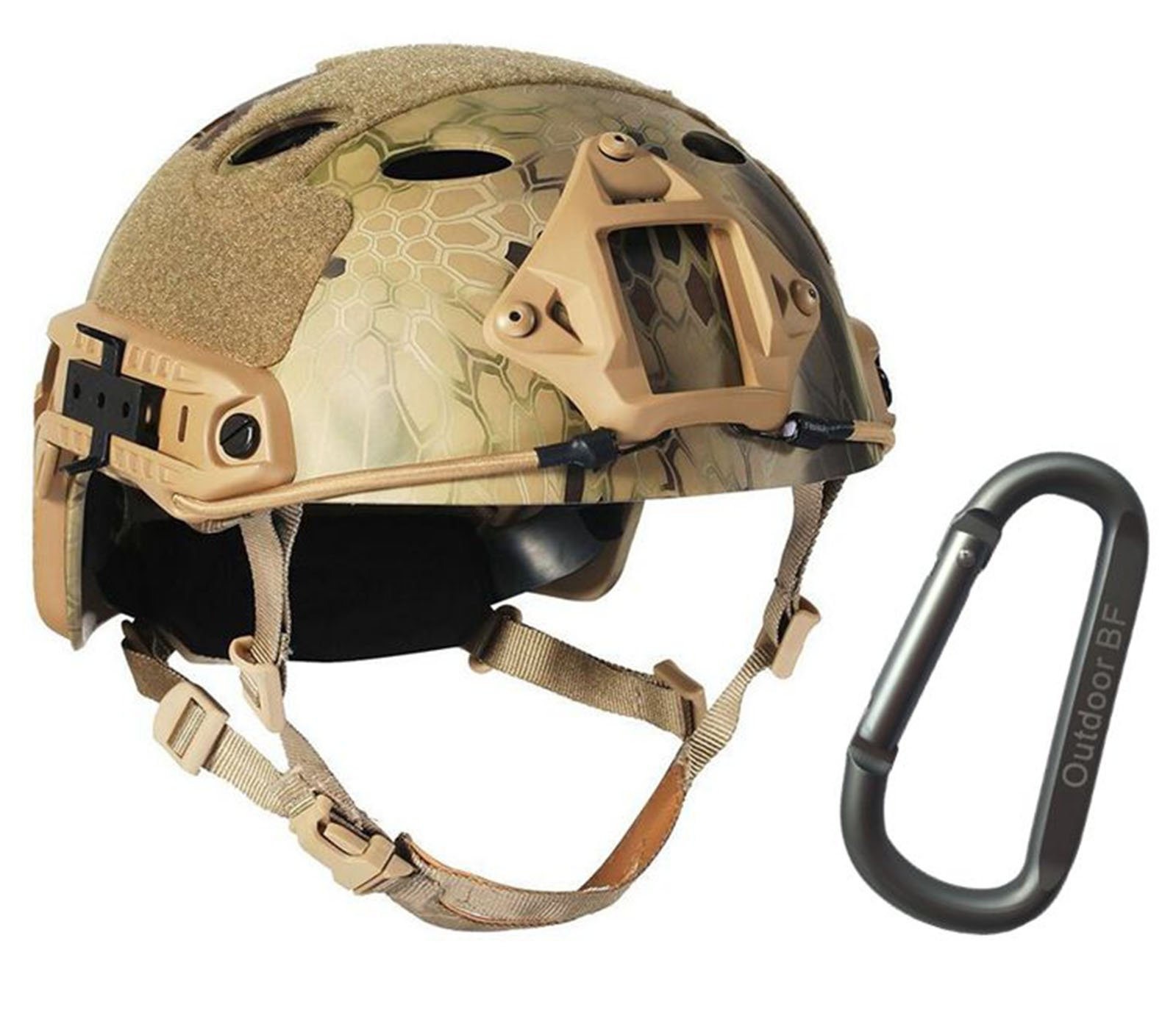 Tactical Fast Adjustable Helmet PJ Type (Mountain python) by Outdoor BF