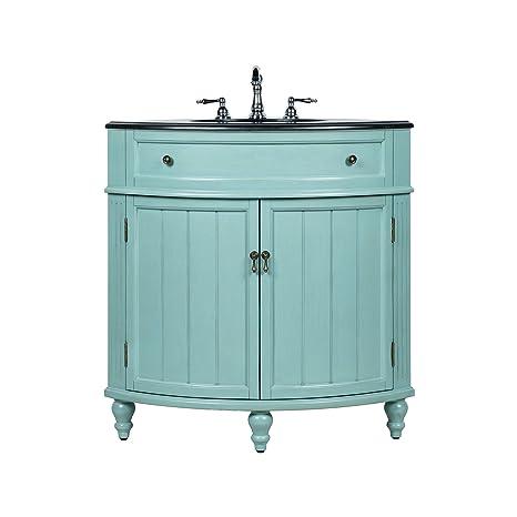 Brilliant 24 Benton Collection Thomasville Blue Slim Corner Bathroom Sink Vanity Gd 47555 Interior Design Ideas Clesiryabchikinfo
