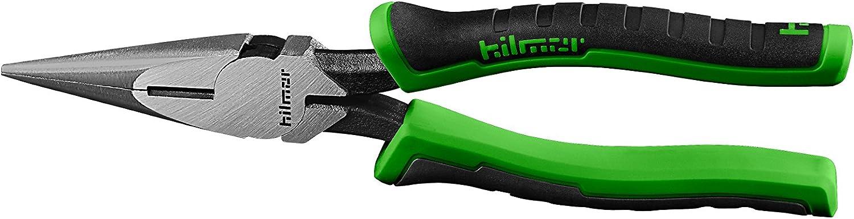 Black /& Green Hilmor 8 Diagonal Cutting Plier with Rubber Handle Grip DCP8 1885363