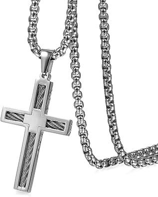 collier avec perle pour homme