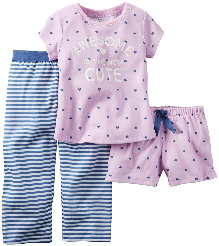 463bc3e456122 set-heart PJ Piece カーターの赤ちゃんの女の子3 12 B016ZEAR48 Months-パジャマ