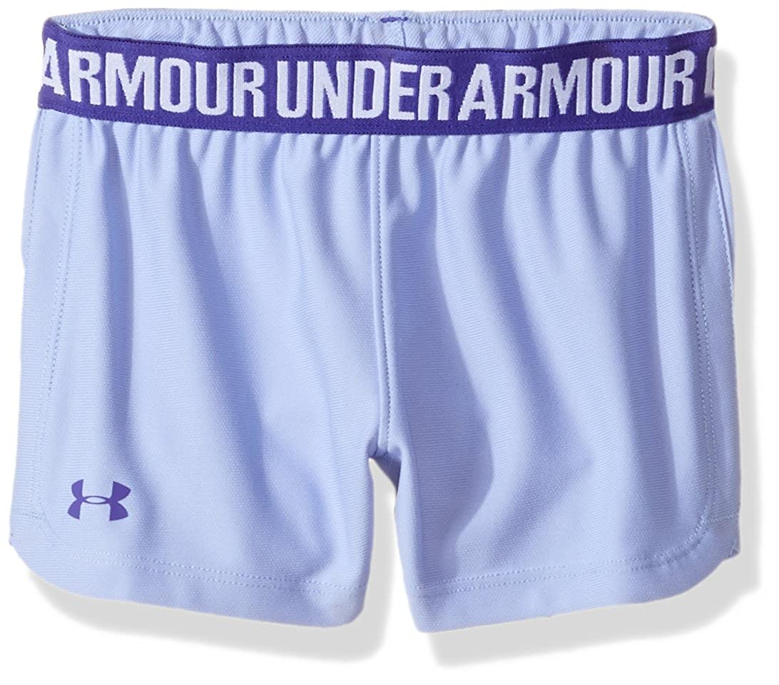 Under Armour Wordmark Block Play Up Short Little Girls' Play up Short 27E25026-01