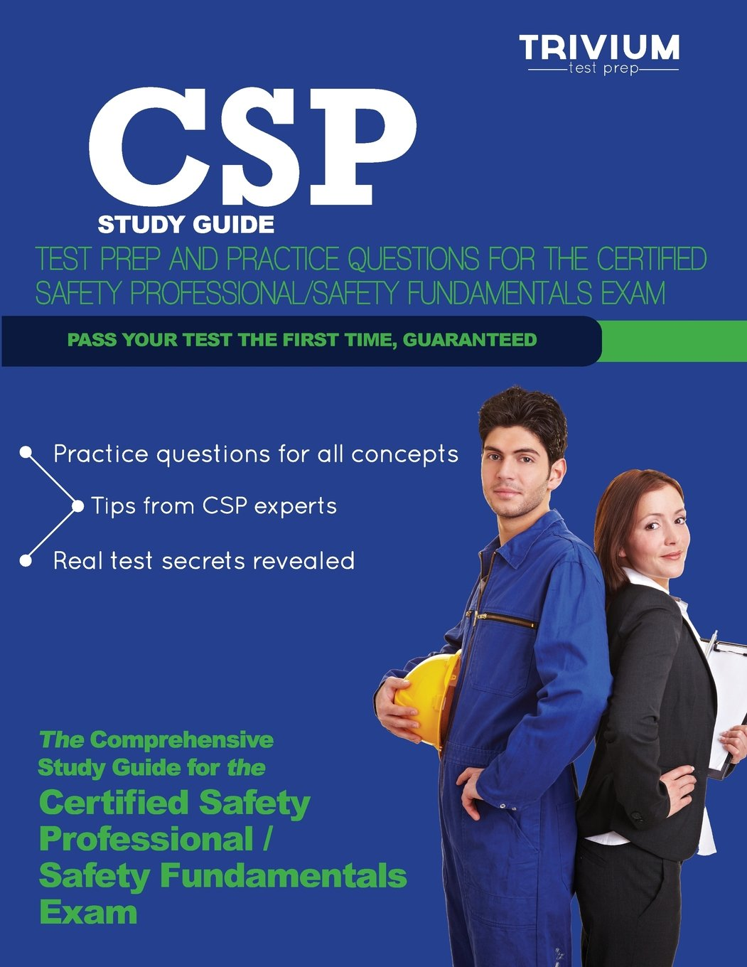 CSP Study Guide: Test Prep and Practice Questions for the Certified Safety  Professional Exam: Trivium Test Prep: 9781939587947: Books - Amazon.ca