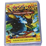 Kiditos Kids Pokemon Trading Card Album with 2 Pockets- 52 Pockets(Multicolour,GW388-52F)