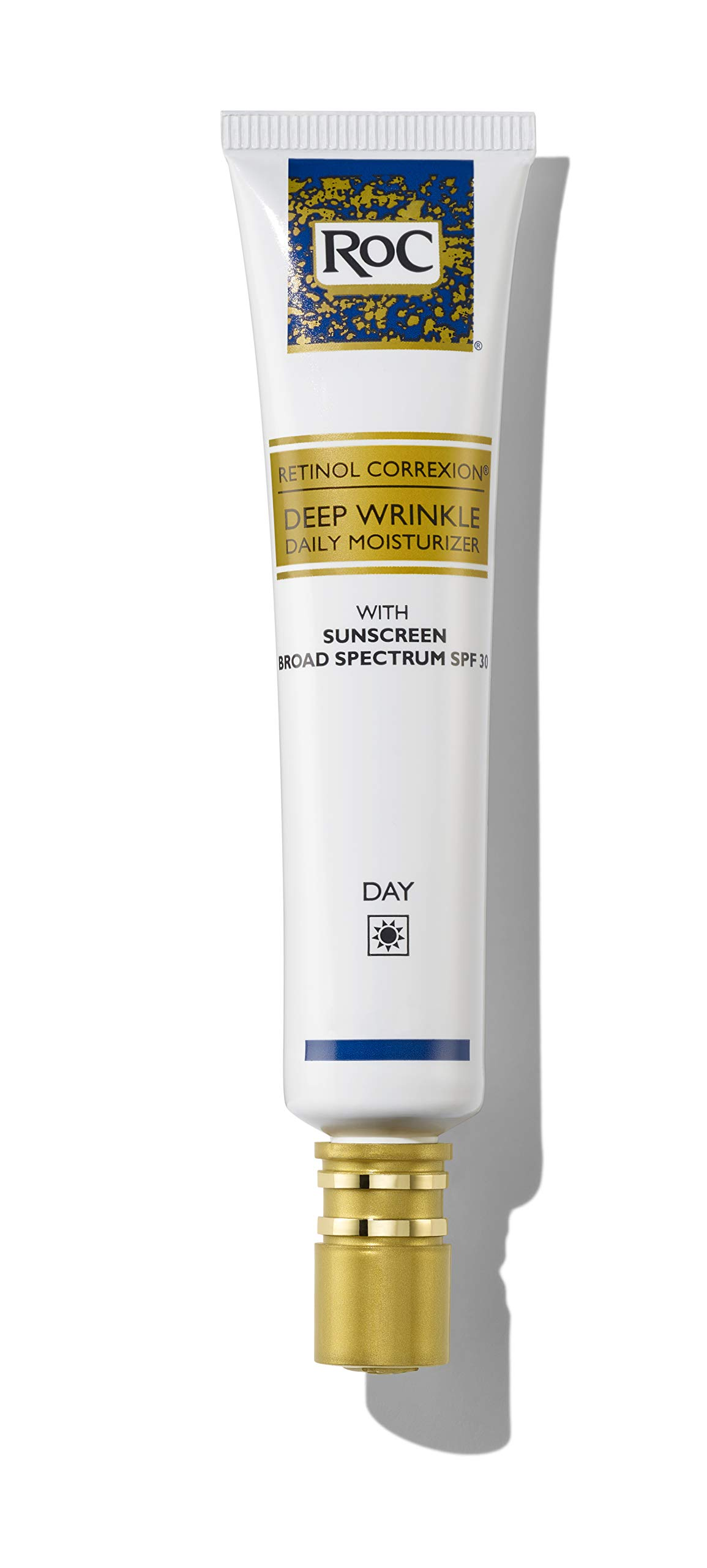 RoC Retinol Correxion Deep Wrinkle Daily Moisturizer with SPF 30 and Vitamin E, 1 Ounce