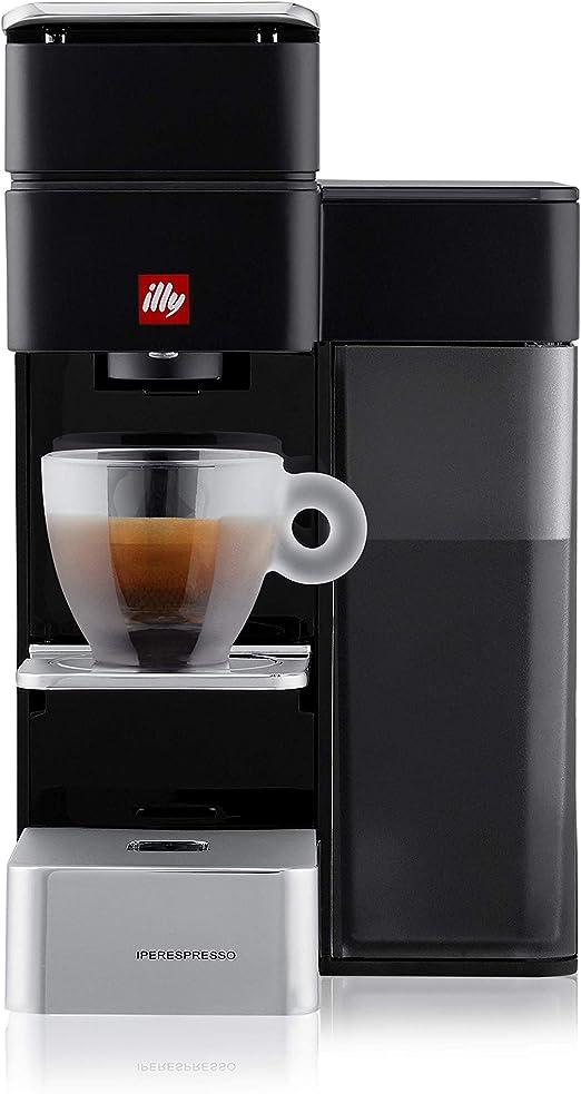 Illy 60202 Independiente Totalmente automática - Cafetera (Independiente, Cafetera de Filtro, 0,9 L, Cápsula de café, Negro): Amazon.es: Hogar
