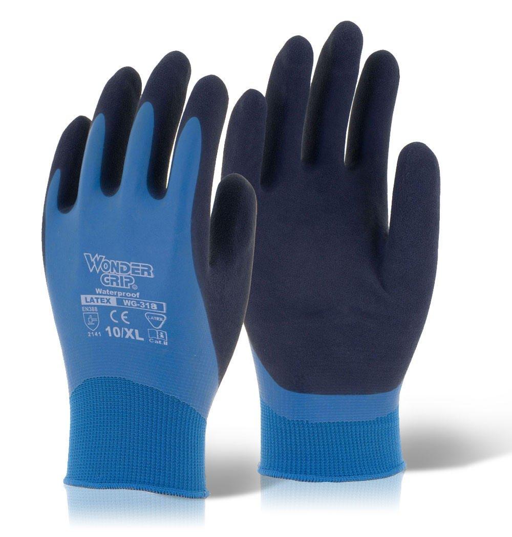 colore: blu misura L guanti Wonder Grip Aqua