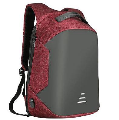 0fe8353cba Amazon.com  Men 15.6 Laptop Backpack Anti Theft Backpack Usb Charging Women  School Notebook Bag Oxford Waterproof Travel Backpack