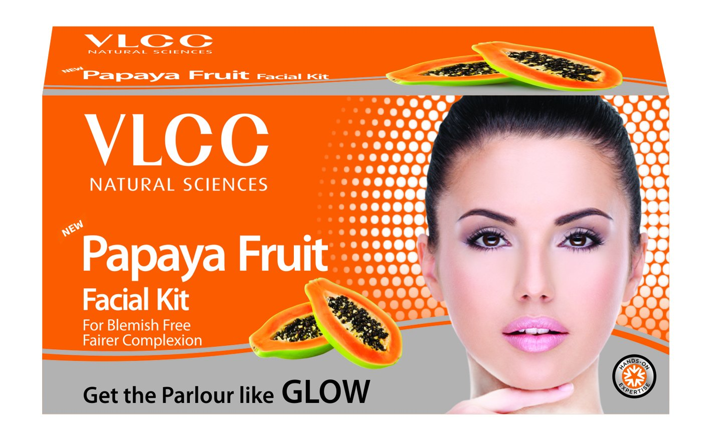 VLCC Papaya Fruit Facial Kit, 60g product image