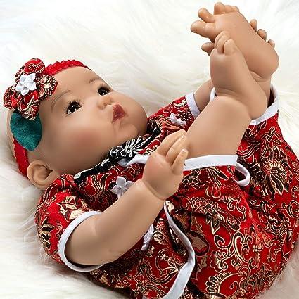 3bc55dbd4a4 Amazon.com  Paradise Galleries Lifelike Asian Reborn Baby Doll Mei ...