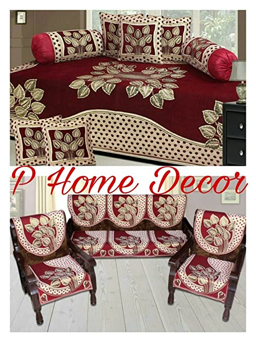 Tremendous Sofa Cover Set And Diwan Set Combo Squirreltailoven Fun Painted Chair Ideas Images Squirreltailovenorg
