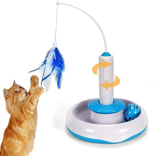 Tacobear Juguete de Gato Interactivo Juguete Interactivo eléctrico ...