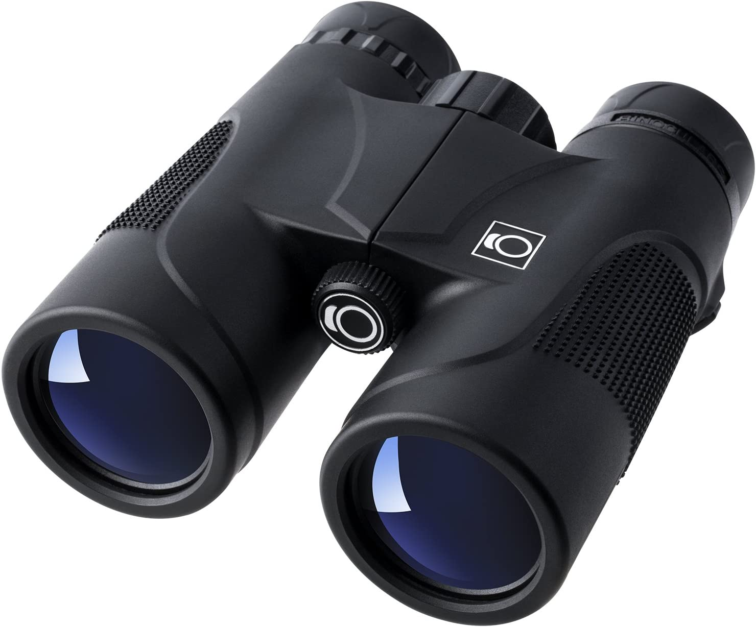 K F Concept HD 10 X 42 Roof Prism Waterproof High-Powered Binoculars Telescope with Low Light Night Vision for Bird Watching, Outdoor, Hunting, Camping, Hiking Black