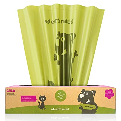 Earth Rated Extra Large Eco-friendly Poop Bags