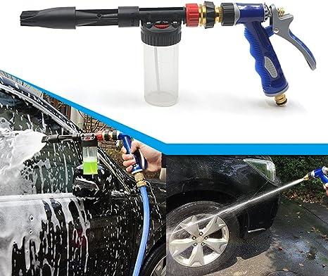 Rayinblue Auto Wasch Spray Schneeschaumspritzpistole Verwendet Uk Schlauch Garten