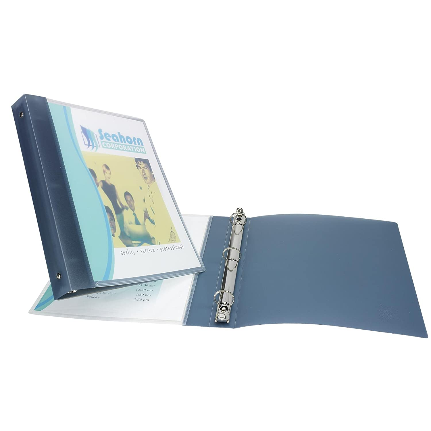 Blue 17675 Avery Flexible Binder with 1-Inch Round Ring Holds 8.5 x 11 Inches Paper