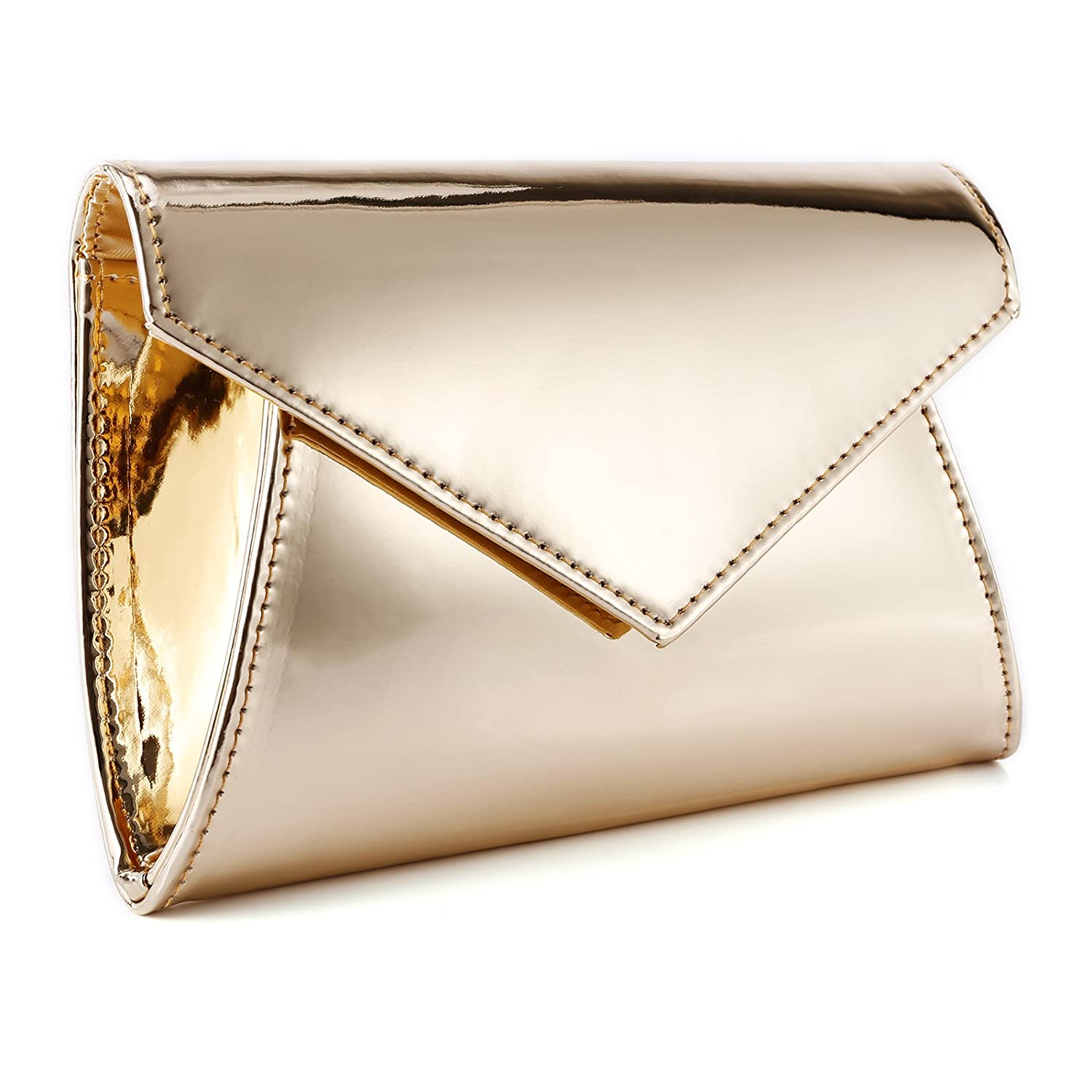 Anladia Envelope Metallic Prom/Party/Evening Clutch Bag