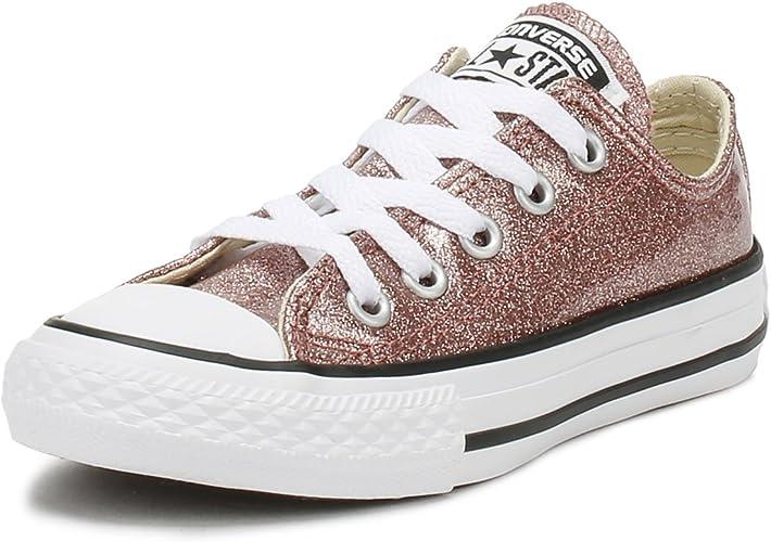 Girls' Chuck Taylor All Star Ox Glitter