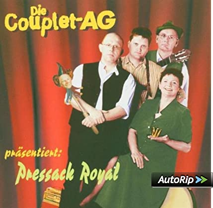 cd die Couplet-Ag