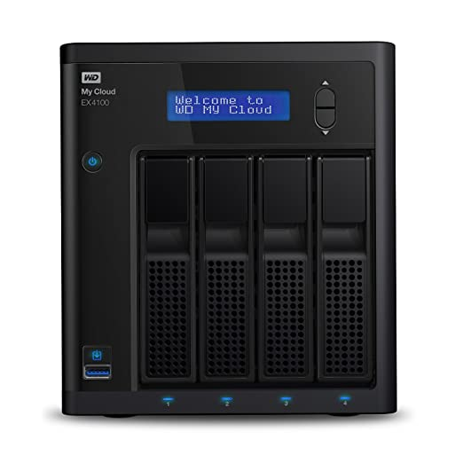 56 opinioni per WD WDBWZE0240KBK-EESN My Cloud EX4100 Network Attached Storage Expert Series
