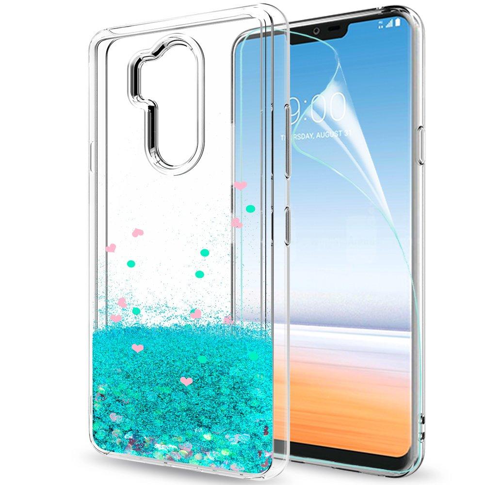 Funda LG G7 ThinQ / LG G7 Silicona Purpurina Carcasa con HD ...