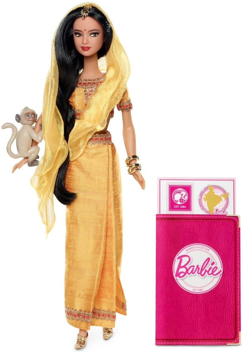 Amazon.com: Barbie Collector Dolls of The World India Doll: Toys & Games