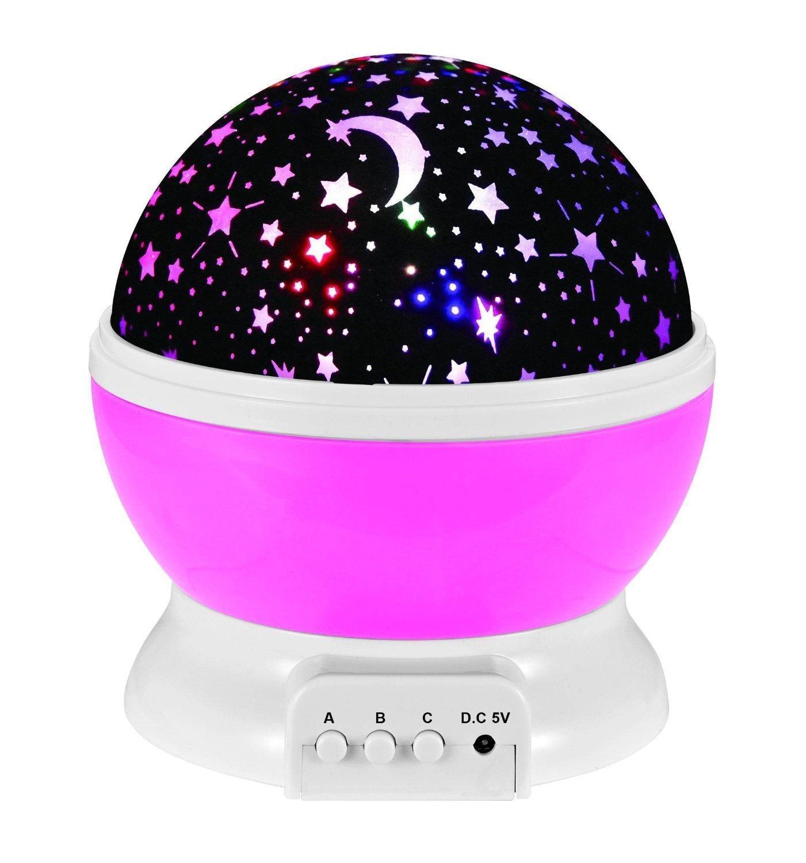 Gearmax® 360 grados Cielo Estrella Noche lámpara Estrella de la ...