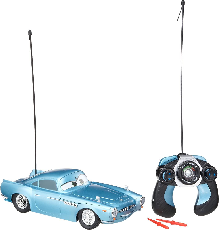 Dickie-Spielzeug 203089508 Disney Cars 2 - Coche por control remoto diseño Finn McMissile [Importado de Alemania] , Modelos/colores Surtidos, 1 Unidad