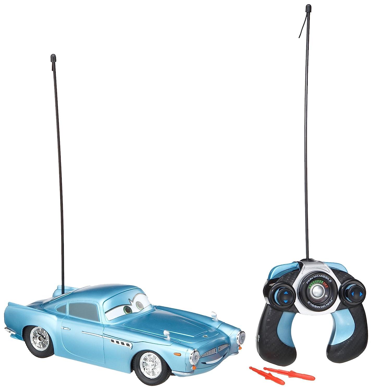 Dickie-Spielzeug 203089508 - Disney Cars 2 - RC Finn, 3-Kanal  Funkfernsteuerung, 27 oder 40 MHz (sortiert), Maßstab 1:16, 29 cm, blau