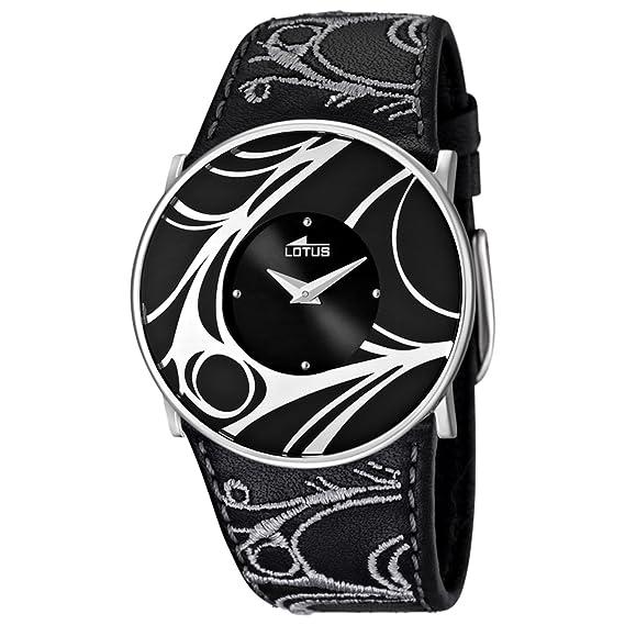683642909708 Lotus 15733 4 - Reloj analógico de Cuarzo para Mujer con Correa de Piel