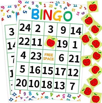 Amazon.com: Ceiba Tree Numbers Bingo Game Multiplication And Addition Bingo  Cards For Classroom Math Learning: Toys & Games