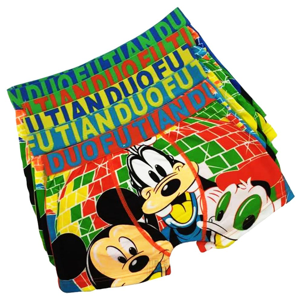 b90b346d0e Allover character Donald Duck print. Exposed wide Elastic waistband lends a  comfortable fit. Can wear them as undies/pajamas shorts/swimming trunks ›