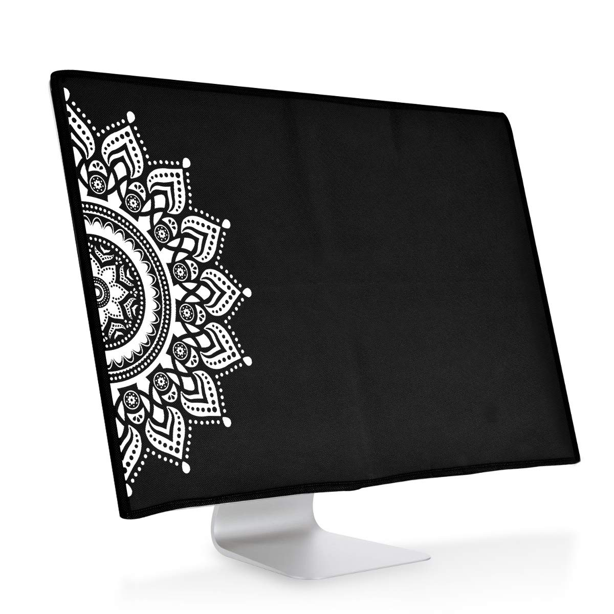 White//Black Dust Cover PC Monitor Case Screen Display Protector kwmobile Monitor Cover for Apple iMac 27 iMac Pro 27