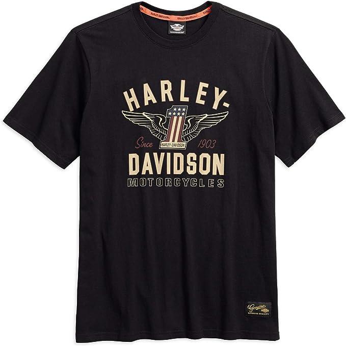 Harley-Davidson Men's #1 Genuine Classics Graphic Tee, Black