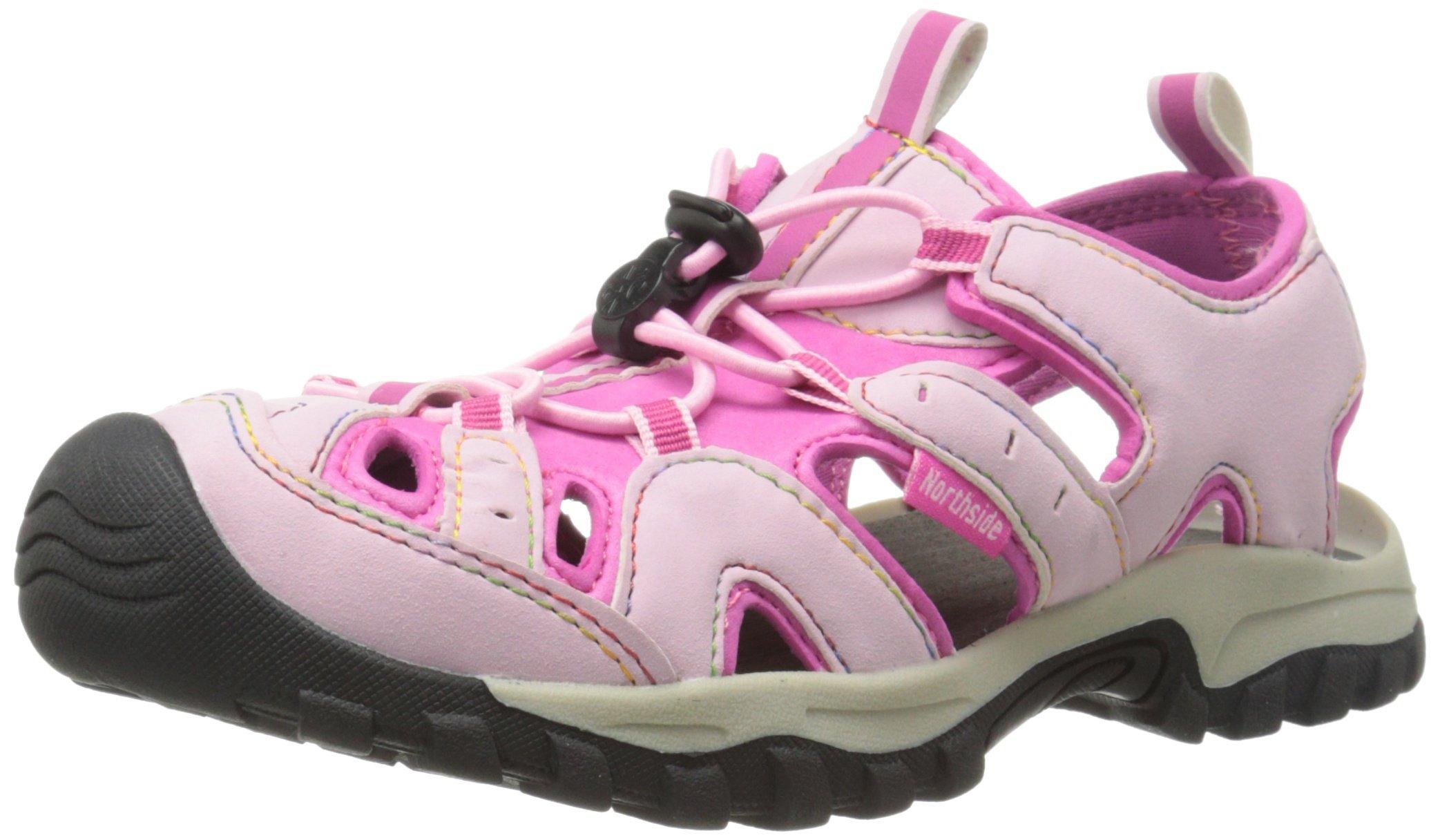 Northside Burke II Athletic Sandal,Pink/Fuchsia,3 M US Little Kid